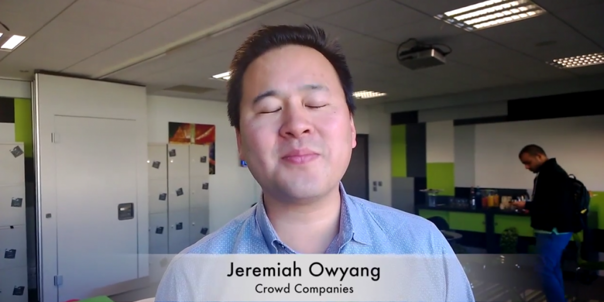 Interview with Jeremiah Owyang at LeWeb