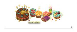Google even congratulates me